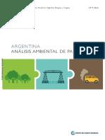 Argentina - Análisis Ambiental Del País - Banco Mundial