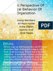 Islamic Perspective of Ethical Behavior of Organiztion-1