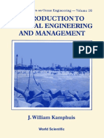 J. William Kamphuis-Introduction to Coastal Engineering and Management (Advanced Series on Ocean Engineering Ser) (1999)