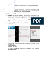 2_Colectarea Coordonatelor GPS a Unităților Educaționale
