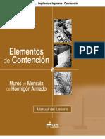Muros en Ménsula de H.a. - Manual Del Usuario