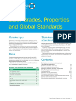 Outokumpu Steel Grades Properties Global Standards