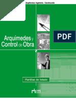 Arquímedes y Control de Obra - Plantillas de Listados.pdf