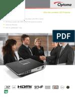 Optoma ML1500 Ultra-Slim Portable LED Projector