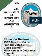 La Universidad Nacional de Cuyo y La Revolucion