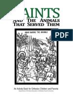 Saints and Animals