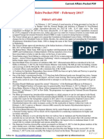 Current Affairs Pocket PDF - February 2017 by AffairsCloud