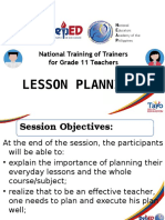 DepEd NEAP NTOT Grade 11 Lesson Plan.1