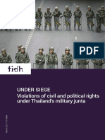Under siege - Violations of civil and political rights under Thailand's military junta