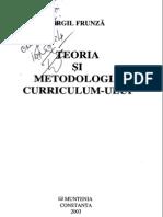Virgil Frunza - Teoria Si Metodologia Curriculum-ului