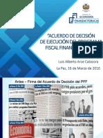Acuerdo Fiscal Financeiro