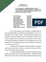 CCR a motivat decizia prin care a stabilit că ancheta DNA privind OUG 13 a perturbat activitatea Guvernului