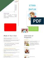 BATUK Pamflet