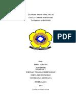 Tanaman Agronomi (Laporan Tetap Praktikum Dasar - Dasar Agronomi) Febri Irawan 05091002006 Teknik Pertanian UNSRI