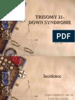 trisomy21