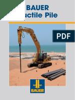 Ductile Piles