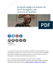 El Cardenal Sarah Explica El Secreto de Fátima