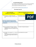 annotated bibliography - ava strout - google docs