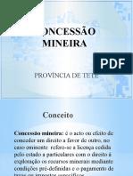 Concessão Mineira