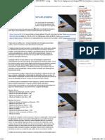 -•- ANÁLISE ECONÔMICO-FINANCEIRA de PROJETOS - Artigo Análise Econômico-financeira de Projetos