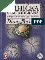 Dion Fortune - Psihicka samoodbrana.pdf