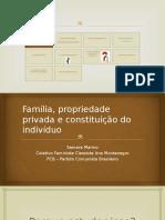 Família, Propriedade Privada e Constituição Do Indivíduo,
