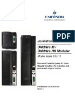 Unidrive M Modular Installation Guide Issue 5 (0478-0141-05)_Approved
