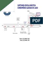 Mapa Capitania Escola - Aldeias