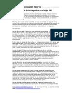 Las 10 leyes de los negocios en el siglo XXI