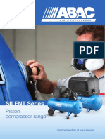 ABAC Silent Piston Air Compressor Range