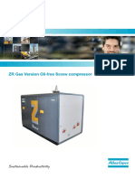 Atlas Copco  ZR Gas Version Oil-free Screw compressor.pdf