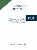 Held, Schmalstieg, & Gertz - Beginning Hittite (1988).pdf