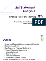 Finanical Statement Analyis