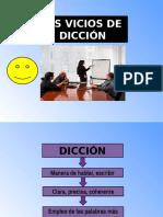 Vicios de Diccion