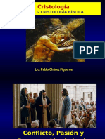 Cristología 3 Conflicto, Muerte y Resurrección de Jesús