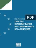 Traité de démocratisation de la gouvernance de la zone euro