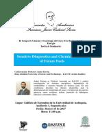 Invitación Conferencia Aamir Farooq