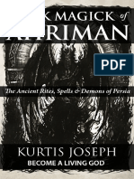 Kurtis Joseph Black Magick of Ahriman Sample