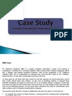 Law Practice Case Study