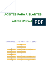 ACEITES MINERALES AISLANTES