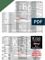 Carta Kibo 2016