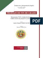 -Herramientas TAO y Traducción Técnica- Análisis Desde Una Perspectiva Económica