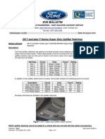 Ford F Series 2017 Upfitter Switch System Switch Relay