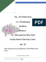 Deontología Médica Y Bioética