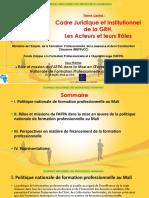 Role Mission FAFPA PNFP Mali