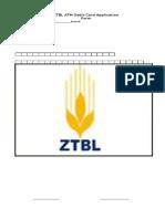 Ztbl Atm Application Form