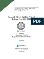 437598 7th Street Bridge Rehab Report Final(CH2MHILL 6-6-13)