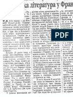Ye. Kononenko, Oukraïnska literatoura ou Frantsii... Degn, 10.06.1999