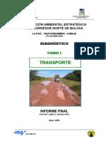 Evaluacion Ambiental Estrategica Del Corredor Norte de Bolivia Transporte
