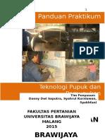 Panduan Praktikum Teknologi Pupuk Dan Pemupukan Ganjil 2015 - 2016